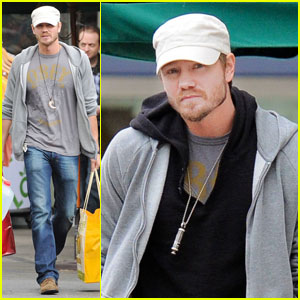 Chad Michael Murray: Dog Walk With Kenzie Dalton