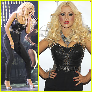 Christina Aguilera: 'Justin Timberlake &#038; Friends' Concert!
