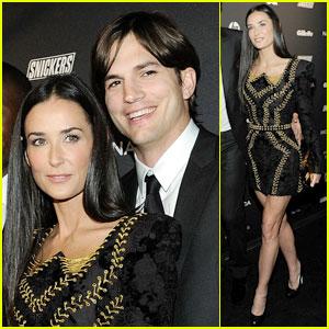 Demi Moore & Ashton Kutcher: GQ Gentl