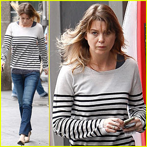Ellen Pompeo: Bank of America ATM Withdrawal