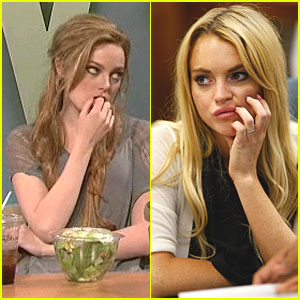 Emma Stone: SNL Spoof of Lindsay Lohan!