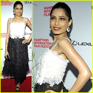 Freida Pinto: 'Miral' at Hamptons Film Festival!