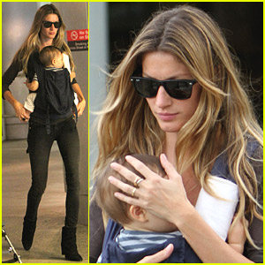 Gisele Bundchen & Benjamin Brady Make It To Miami