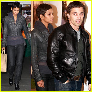 Halle Berry & Olivier Martinez: Marcelita Art Gallery!