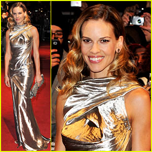Hilary Swank: 'Conviction' Premiere in London!
