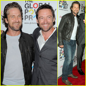 Gerard Butler & Hugh Jackman: Global Poverty Project Pals