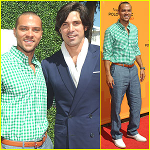 Jesse Williams: Veuve Clicquot Polo Challenge!