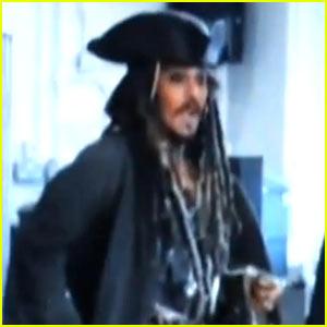 Jack Sparrow Visits London Students!