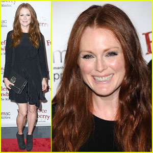 Julianne Moore: 'Freckleface Strawberry' Opening Night!