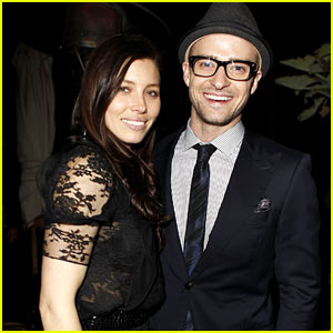 Justin Timberlake Shares Glamour Reel Moment with Jessica Biel