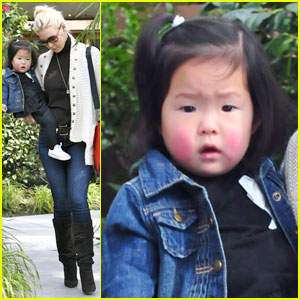 Katherine Heigl, Nancy & Naleigh: Los Feliz Lunch Ladies