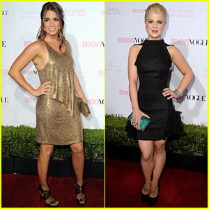 Nikki Reed & Kelly Osbourne: Teen Vogue Party!