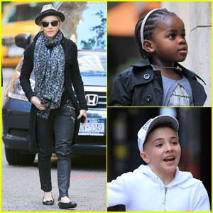 ... Celebrity Babies, Madonna, Mercy James, Rocco Ritchie : Just Jared