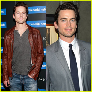 Matt Bomer: 'Social Network' Screening!