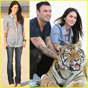 Megan Fox &#038; Brian Austin Green: Tiger Twosome