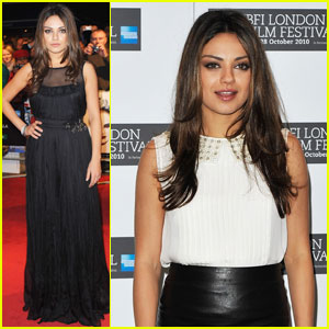 Mila Kunis: 'Black Swan' at BFI London Film Festival!