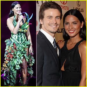 Olivia Munn & Jason Ritter Host Environmental Media Awards!