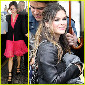 Rachel Bilson: Stuck in the Paris Rain