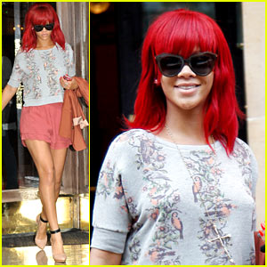 Rihanna: Owls and Birds Sweater!