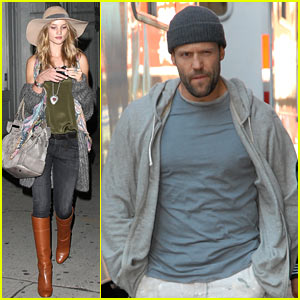 Rosie Huntington-Whiteley & Jason Statham: Chinatown Couple