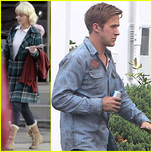 Ryan Gosling & Carey Mulligan Go For A 'Drive'