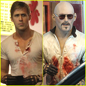 Ryan Gosling Is A Bloody Mess