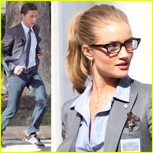 Shia LaBeouf & Rosie Huntington-Whiteley: 'Transformers 3' in D.C.