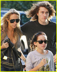 Tish Cyrus Finds Comfort In Her Kids