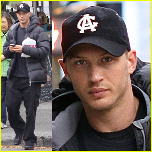 Tom Hardy Takes a Break from 'War'
