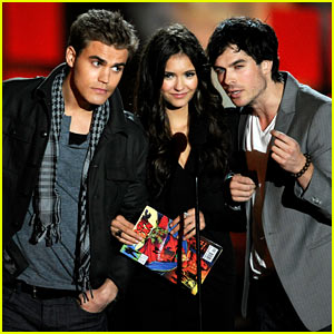 'Vampire Diaries' Cast: Scream Awards Presenters!