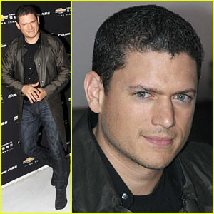 Wentworth Miller Talks Chevrolet in Shanghai