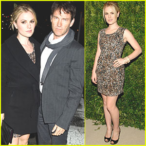 Anna Paquin & Stephen Moyer: Fashion Fund Awards!