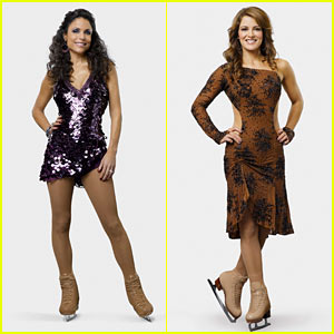 Bethenny Frankel & Rebecca Budig: Skating with the Stars!