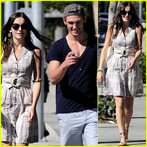 Camilla Belle & Alex Pettyfer: Lunch Buddies!