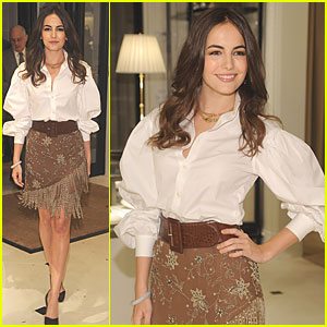 Camilla Belle Enters 'The World of Gloria Vanderbilt'