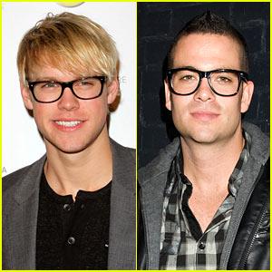 Chord Overstreet & Mark Salling: Geek Chic Glasses!