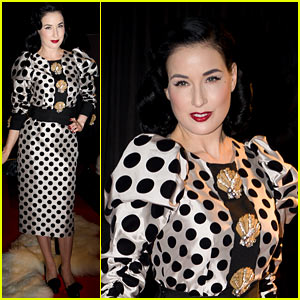 Dita Von Teese: Erotica Photo Call!