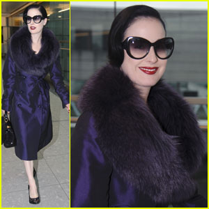 Dita Von Teese: Dragon Lady Lands in London