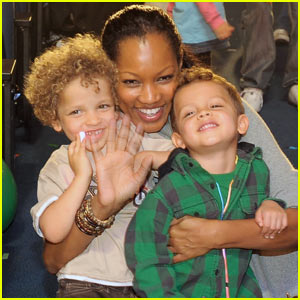 Garcelle Beauvais: Yo Gabba Gabba! with Jax & Jaid!