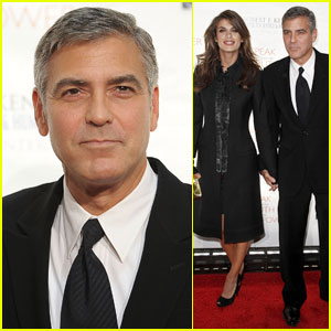 George Clooney: Ripple of Hope Awards with Elisabetta Canalis
