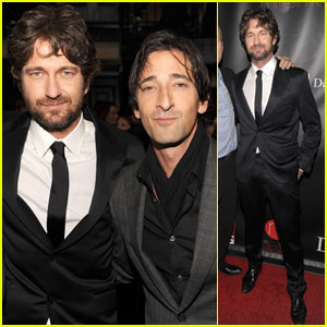 Gerard Butler &#038; Adrien Brody: 'Let's Build A School For Haiti!'