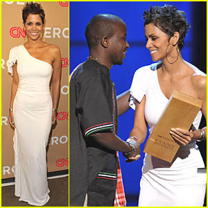 Halle Berry Celebrates CNN Heroes