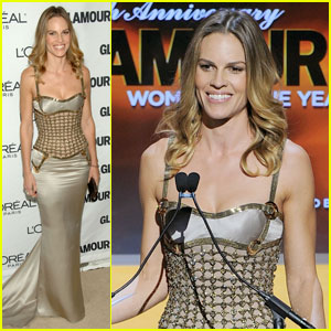 Hilary Swank: 'Glamour Women of the Year' Presenter