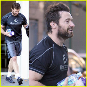 Hugh Jackman: 'Wolverine' Workout