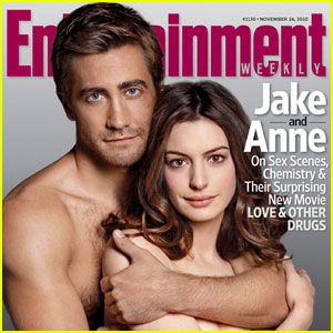 Jake Gyllenhaal & Anne Hathaway: Shirtless for 'EW'