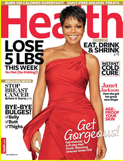 Janet Jackson Covers 'Health' December 2010