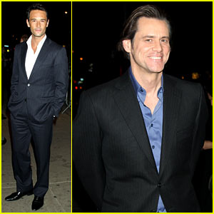 Jim Carrey & Rodrigo Santoro: 'Philip Morris' Screening