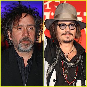 Johnny Depp & Tim Burton: 'Dark Shadows' to Start in April!