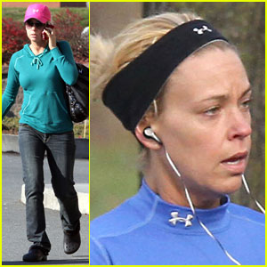 Kate Gosselin: Alone Time Tanning