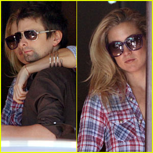 Kate Hudson & Matthew Bellamy: Pacific Palisades Pair